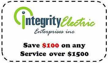 Integrity Electric Deal - Clarence Electrician - coupon