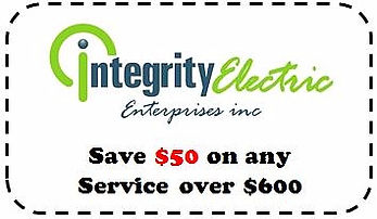 Integrity Electric Deal - West Seneca Electrician - coupon