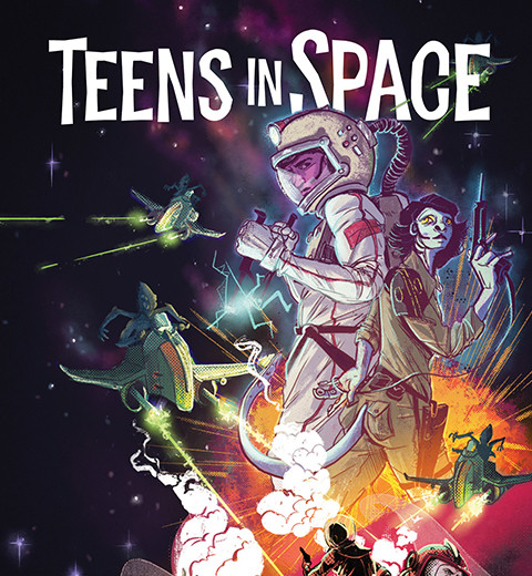 Teens in Space Cover snip