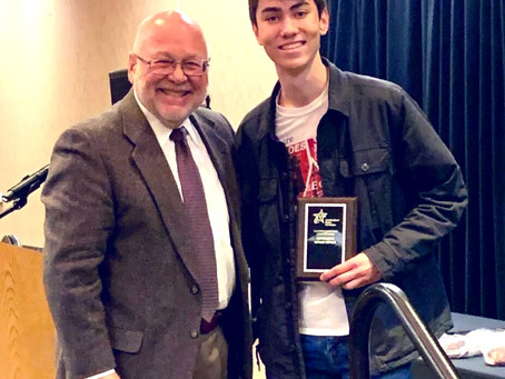 Trinity Students Recognized at State Mock Trial Competition