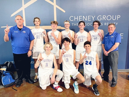 Basketball Team Takes First in Big South Regional