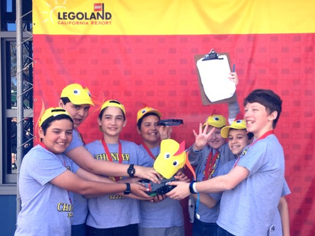 Another Win for the Lego Robotics Team!