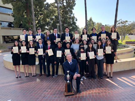 District Attorney Honors Mock Trial Team