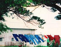 Amish clothesline, Iowa