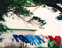 Amish clothesline, Iowa