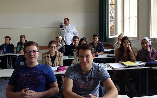 Lessing Gymnasium Mannheim class