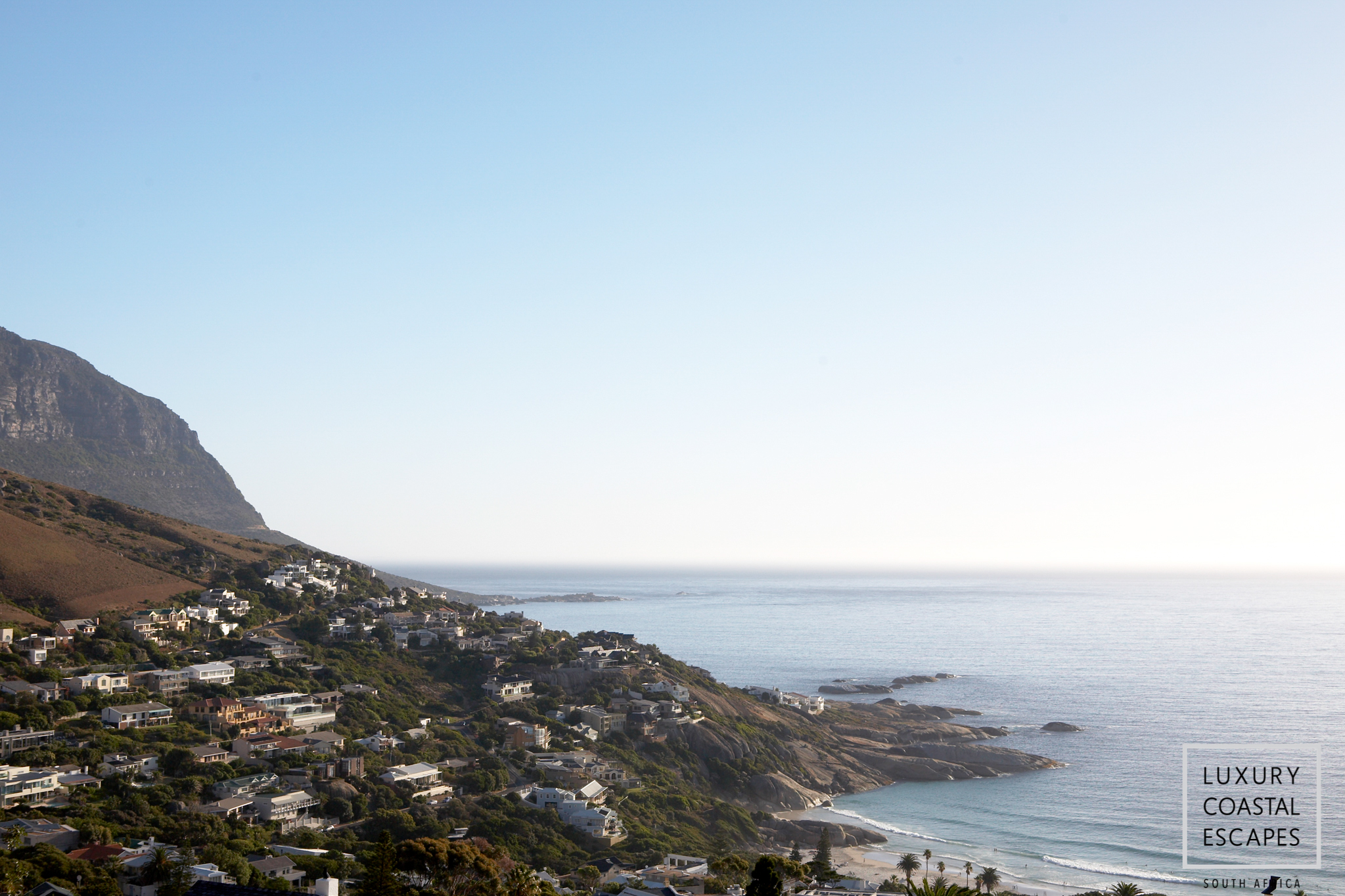 View of the town LLandudno - Cape Town