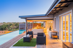 Front Verandah with Pool
