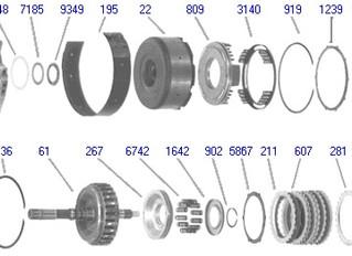АКПП для Nissan малого объема. RE4F03A