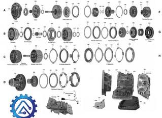 АКПП Toyota / Aisin U440E, U441, AW80-40LE, AW81-40LE, AW81-40LS