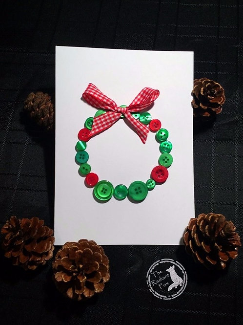 'If Life Gives You Buttons...  Make A Wreath!'