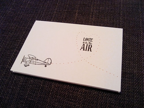 'Love Is In the Air'
