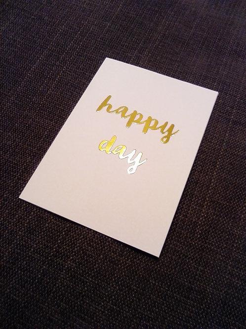 'Oh Happy Days...'