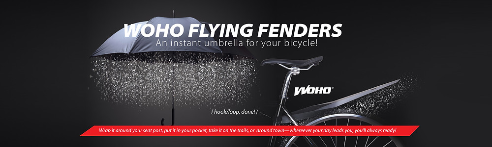Hook and Loop WoHo Flying Fenders