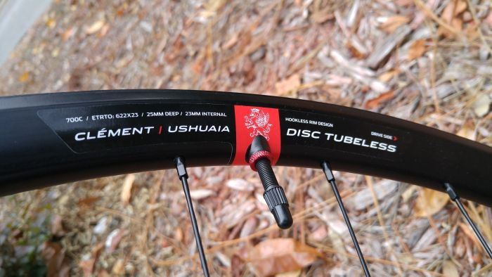 Clement Ushuaia 25mm Deep Disc Tubeless Wheels