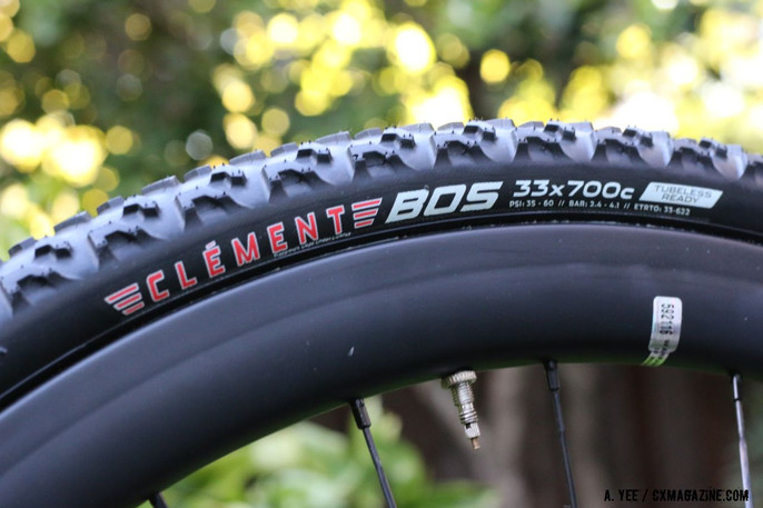 NEW PRODUCT SPOTLIGHT: CLEMENT BOS TUBELESS CYCLOCROSS TIRE