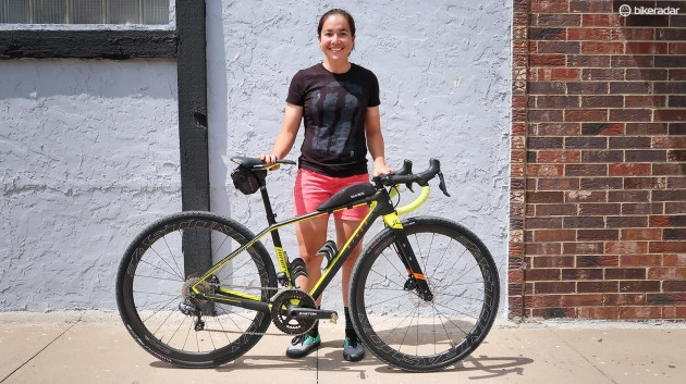 bikeradar.com Dirty Kanza 200 Queen of Kanza Amanda Nauman Niner RLT 9 RDO