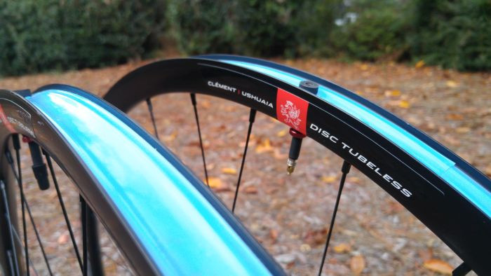 Clement Gravel Wheels pre-taped