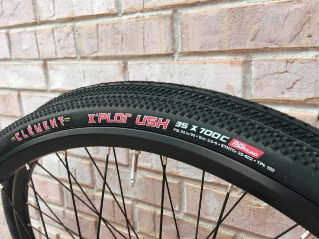 Clément X'Plor USH 700 X 35 - 60/120 TPI (Part #: 10052/10053) - Cyclocross, Commuter or Touring bicycle tire