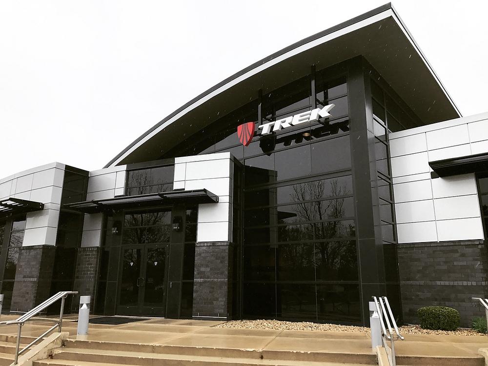 Trek Bicycle Corp. headquarters in Waterloo, Wisconsin.