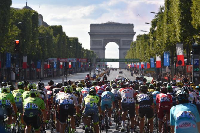Cycling News Tour de France 2017 L'arc de Triomphe