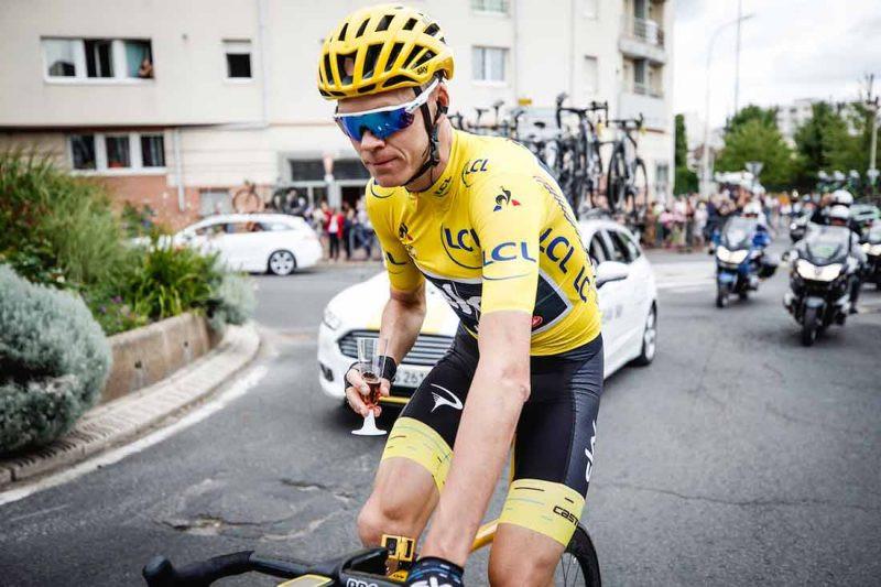 Chris Froome Tour de France 2017 Winner