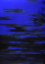 "série ""Mer"" blue cosmic X"