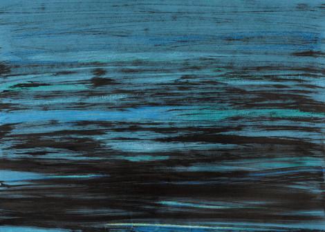 """série """"Mer"""" blue peacock III"""
