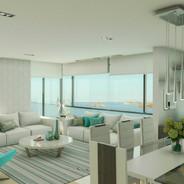 Diseño interior - Apartamentos Magenta