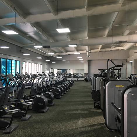 Gimnasio Spinning Center - Plaza del parque
