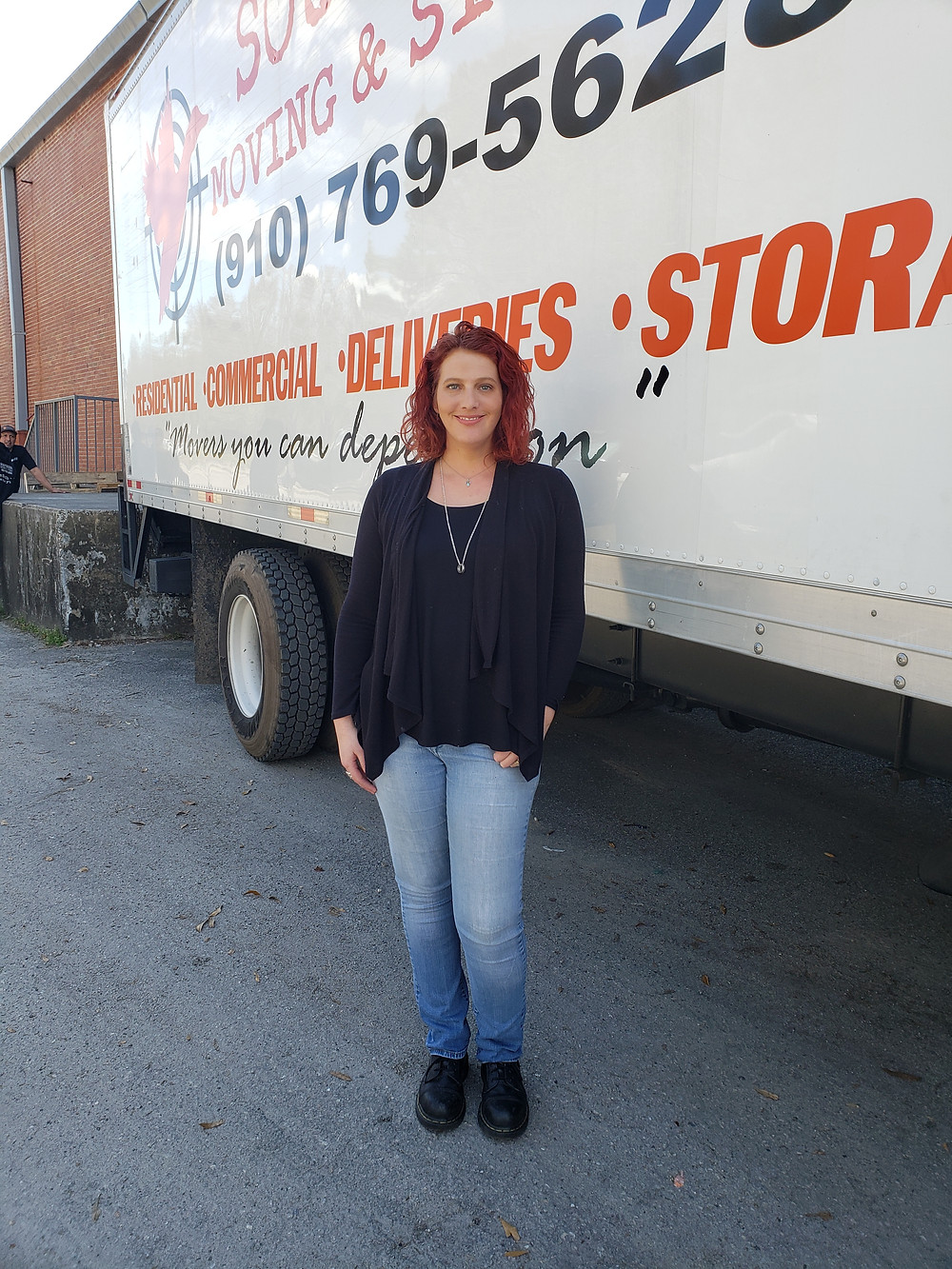 Nicole office manager of Southern Moving & Storage