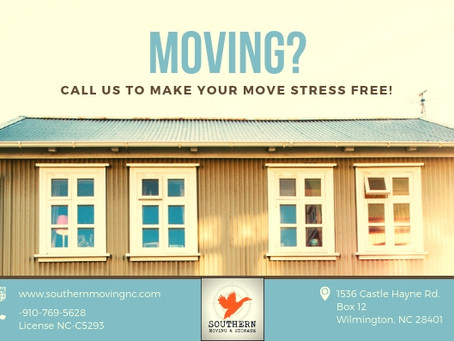 Let Southern Moving Make Your Move STRESS FREE!