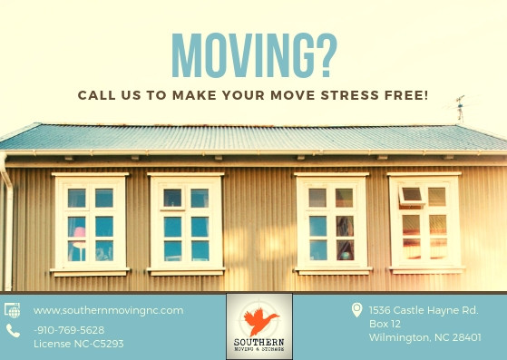 Let our Wilmington NC moving company handle your move!