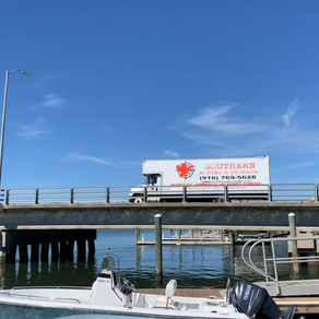 Great day for an install at the beach!