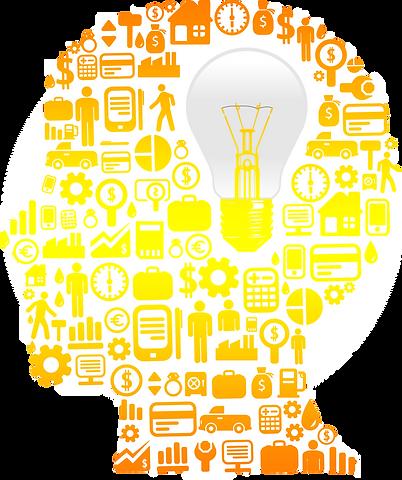 Head, Innovation, Light bulb-vectorstock