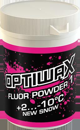 Optiwax Fluor pulver 1 +2...-10°C