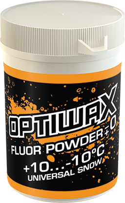 Optiwax Fluor pulver +-0 +10...-10°C