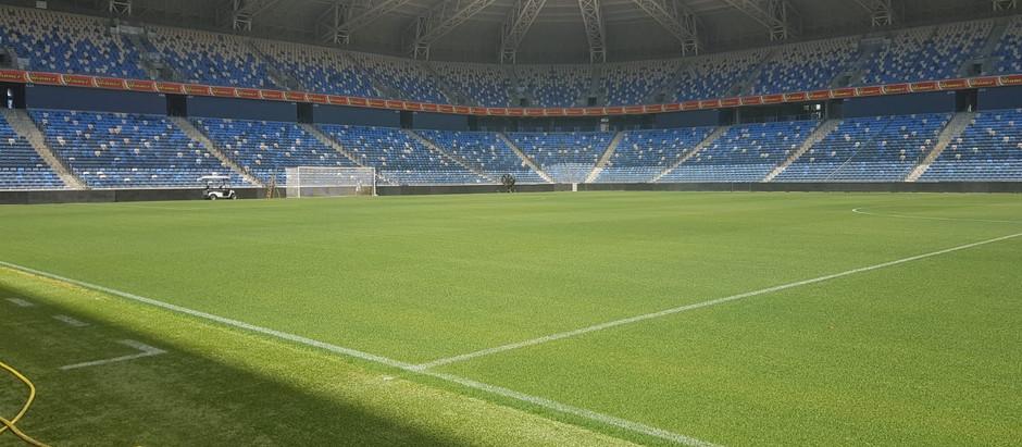 Drones project - Sammy Ofer Stadium