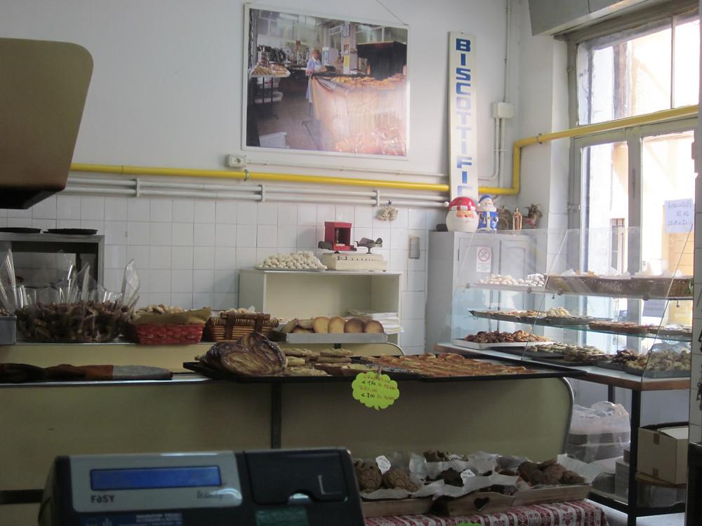 Innocenti bakery in Rome
