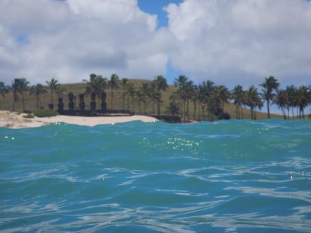 Easter Island beach life