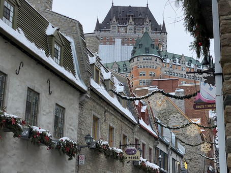 Escaping global warming in Quebec City