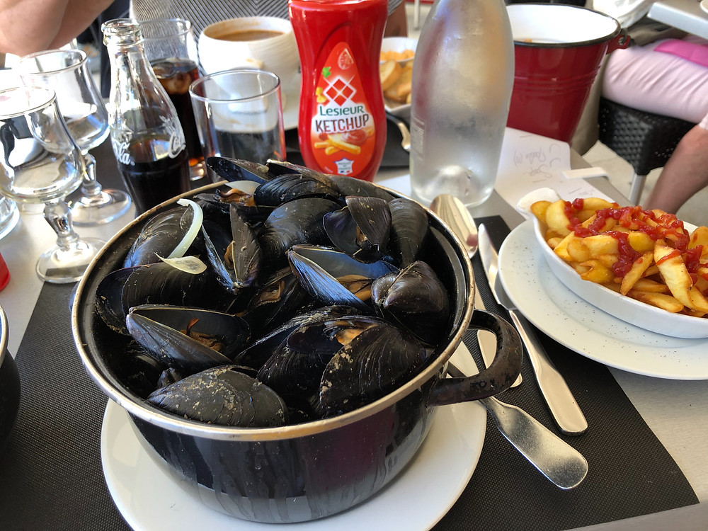 Marseille mussels