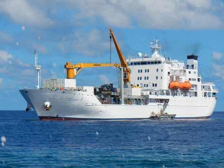 Freighter travel off the beaten path to Polynesian paradise