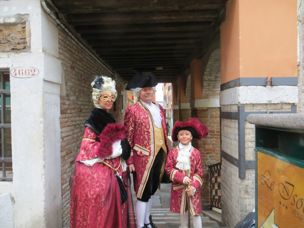 Travel off the beaten path Venice Carnival