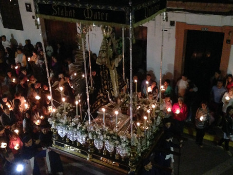 Holy Week - flashback to the 1500s