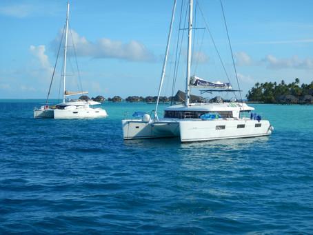 Yachting to Bora Bora - living life below deck