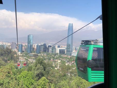 Take a 10-mile walking tour of Santiago, Chile