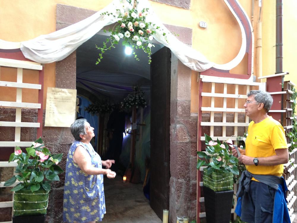 Sardinian shrine to the Virgin Mary