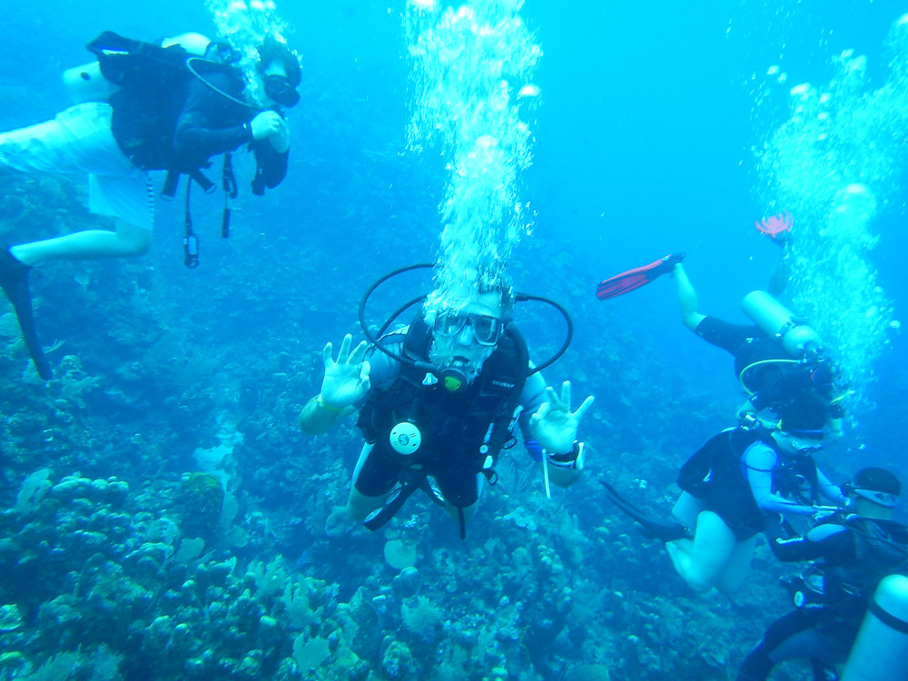 Travel Blog Scuba diving Roatan