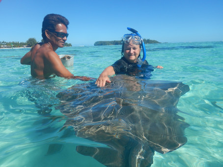 Under the sea in French Polynesia